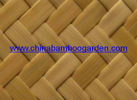 Bamboo Weave Knitting Flat Panel China Bamboo Weaving