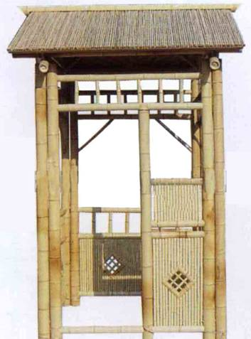 bamboo sheds square