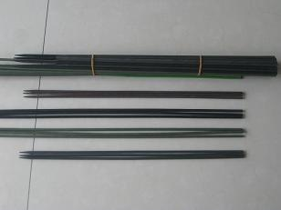 bamboo stick colored finish laquer